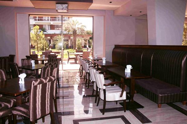 Отель Oasis,Ресторан