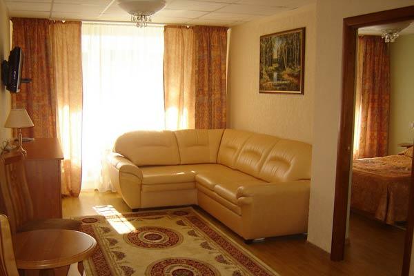 Санаторий Лесная Новь,Люкс 2-комнатный
