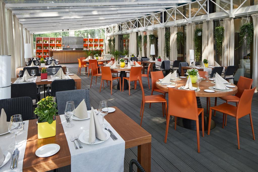 Отель Brighton,ресторан