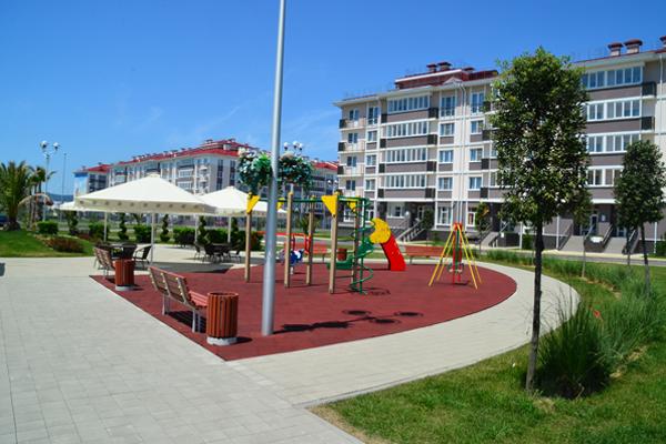Отель Русский дом 17 квартал,Детская площадка