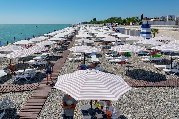 Отель Чистые пруды (Бархатные сезоны),Пляж