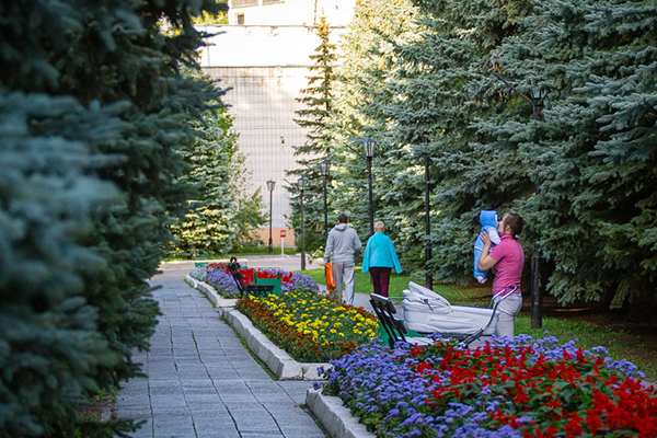 Санаторий имени В.И. Ленина ,Аллея