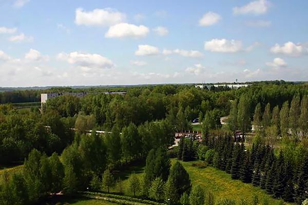 Санаторий имени В.И. Ленина ,Вид сверху