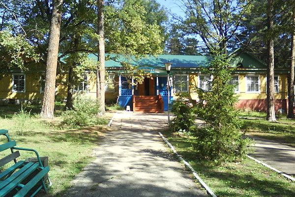 Санаторий Белый Яр,Территория