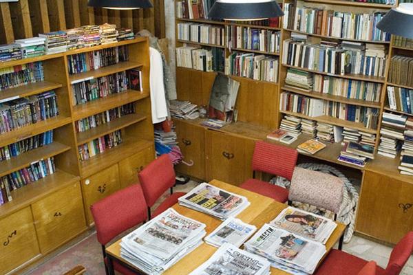 Пансионат Дружба ,Библиотека