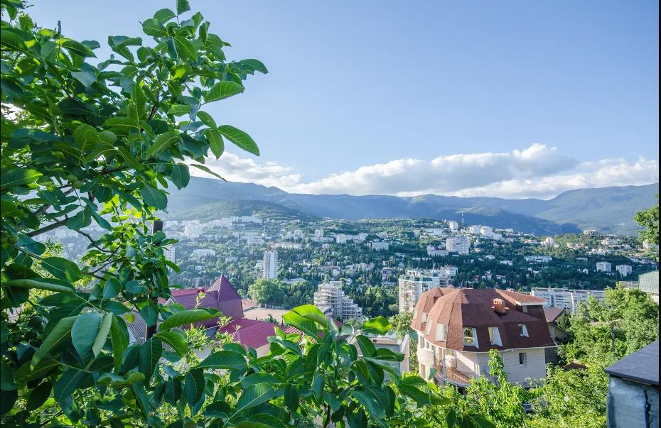 Гостиница Крымская Ницца,Вид на город