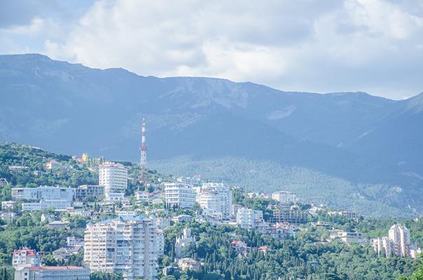 Гостиница Крымская Ницца,Вид на город Ялта