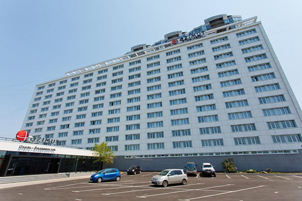 Отель Азимут,Общий вид