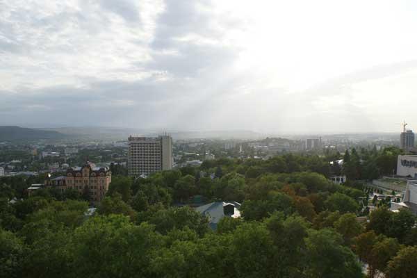 Отель Машук,Вид на Пятигорск