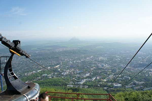 Вид на Пятигорск
