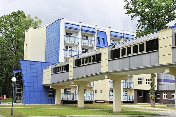 Санаторий Жемчужина,Главный корпус с переходом