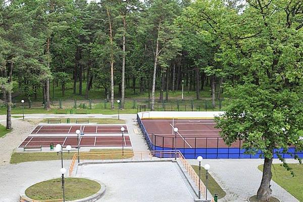 Санаторий Жемчужина,Спортивные площадки
