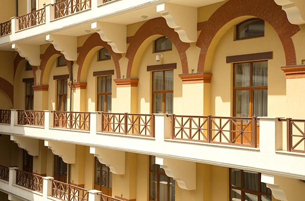 Отель Горки Гранд (Gorky Grand),Solis_yard shot
