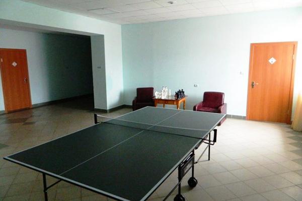 Санаторий Талкас,Настольный тенис