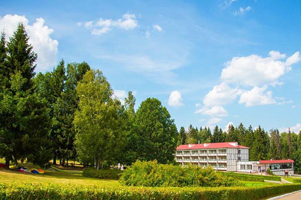 Загородный отель Heliopark LESNOY,Территория