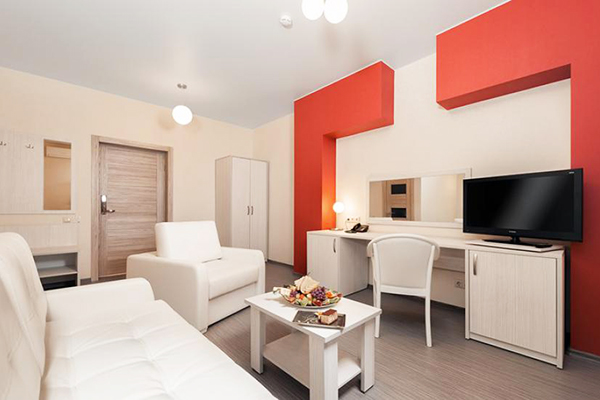 Загородный отель Heliopark LESNOY,Люкс 1-комнатный