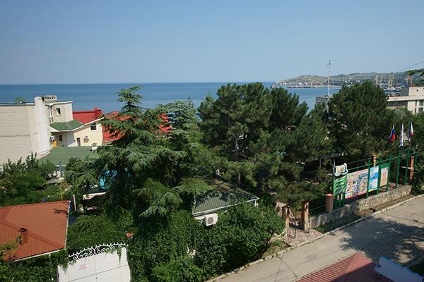 Туристско-оздоровительный комплекс Маяк ТОК (Феодосия),Вид на море
