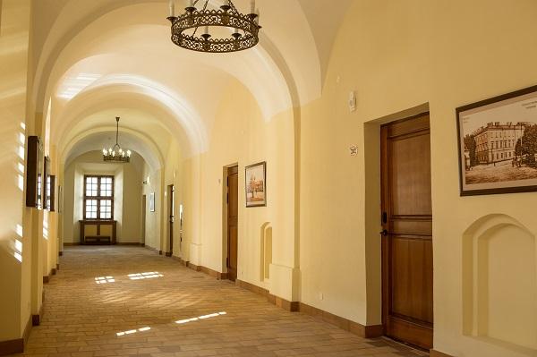 Гостиница Монастырский,коридор