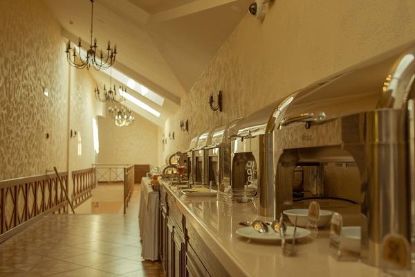 Гостиница Монастырский,Шведский стол