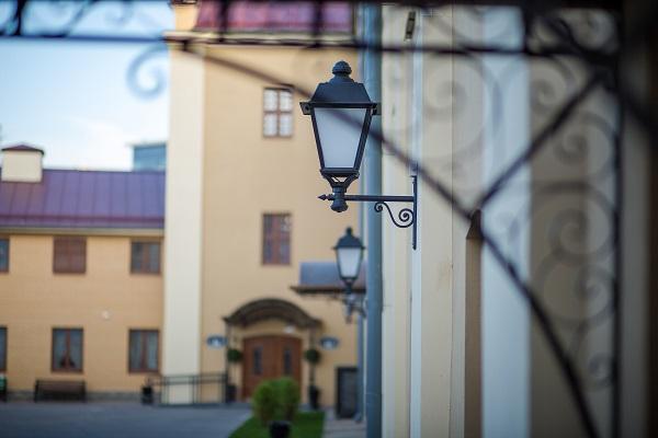 Гостиница Монастырский,Двор