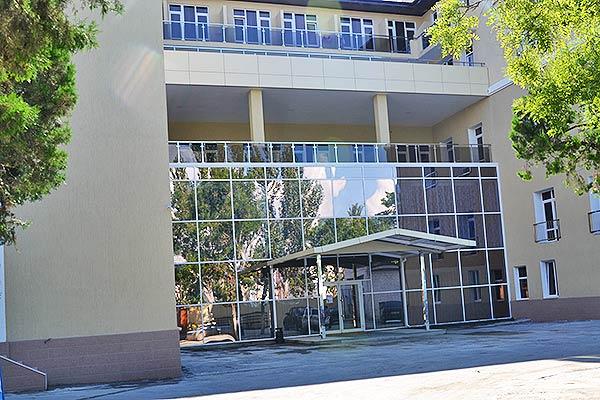 Курорт-отель Санмаринн,Главный вход корпус №1