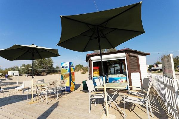 Снэк-бар на пляже