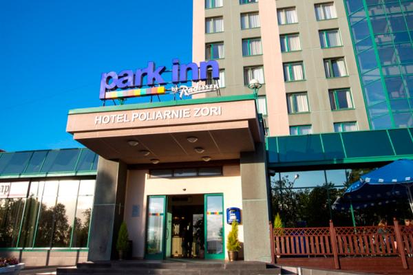 Отель Park Inn by Radisson Полярные Зори,Внешний вид
