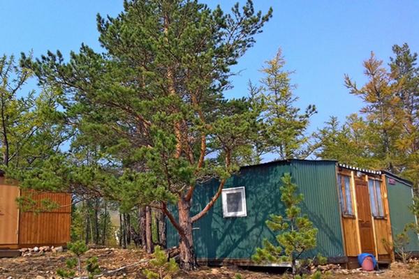 Лесной домик № 1, 2