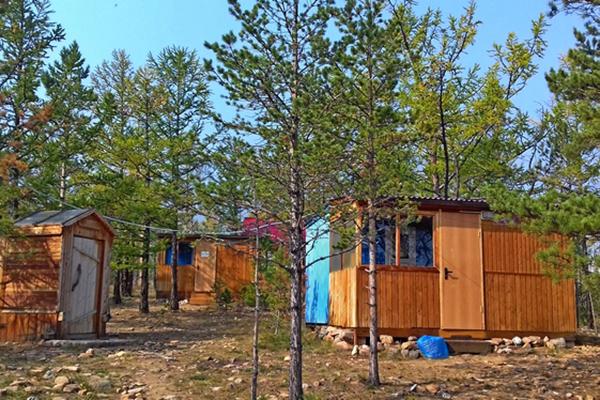 Лесные домики № 3, 4
