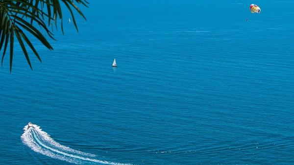 Отель Green park Yalta-Intourist,Вид на море
