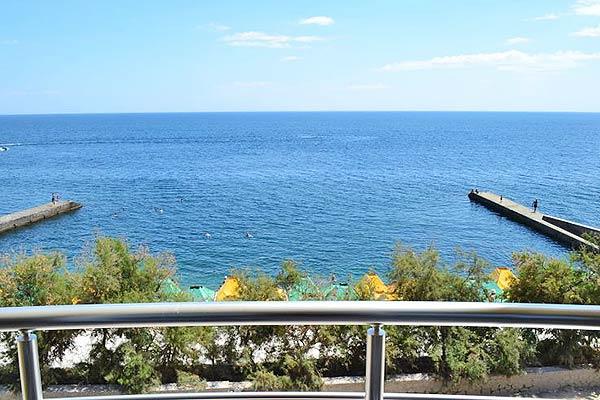 Гостиница Легенда ,Вид на море