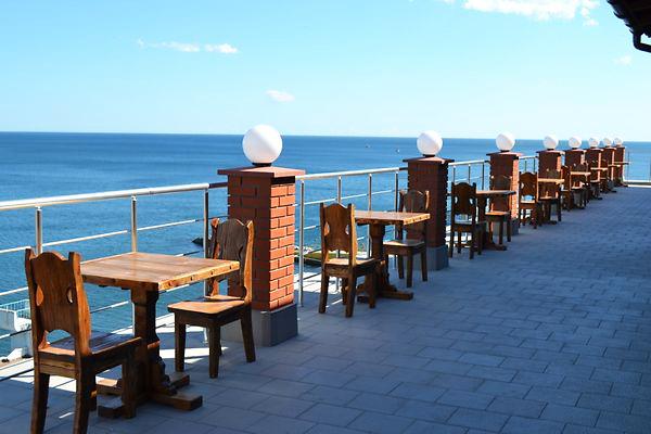Гостиница Легенда ,Кафе. Открытая терраса