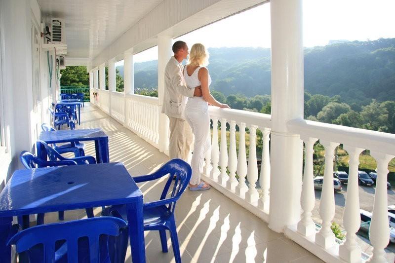Гостиница Мария ,Терраса