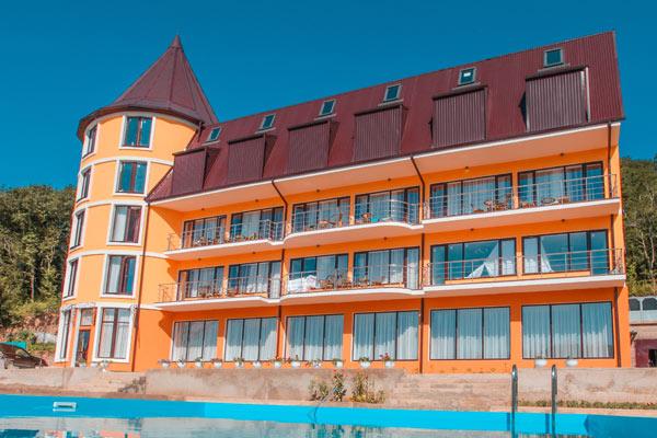 Отель Аква Вилла (Aqua Villa),Внешний вид
