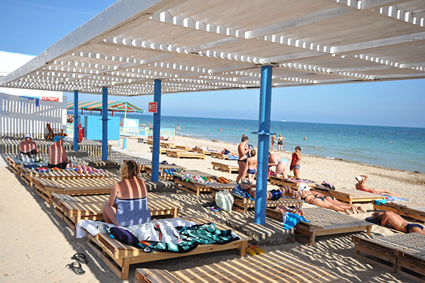 Санаторий Мечта ,Пляж