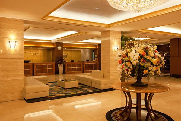 Отель Хендэ,Холл, служба приема