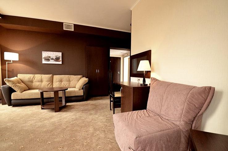 Люкс 2-местный 2-комнатный Премиум