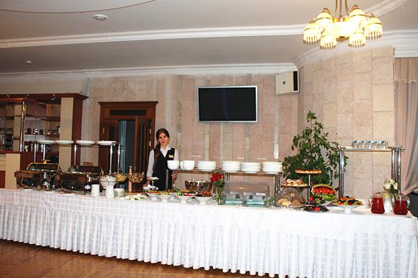 Гостиница Палас,Ресторан. Завтрак