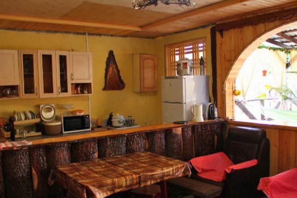 Отель Оазис,кухня