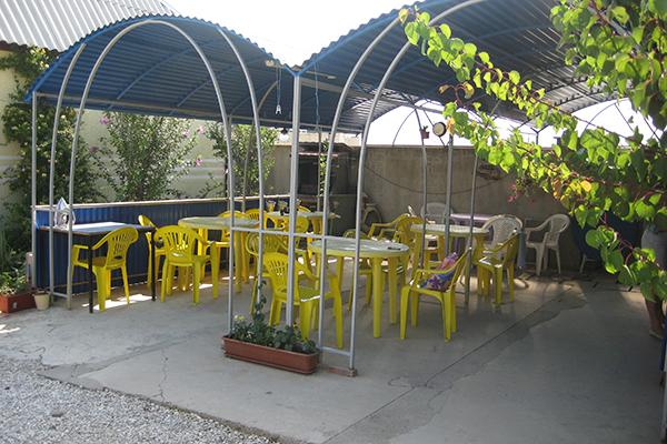 Гостевой дом Бумеранг,Летняя кухня