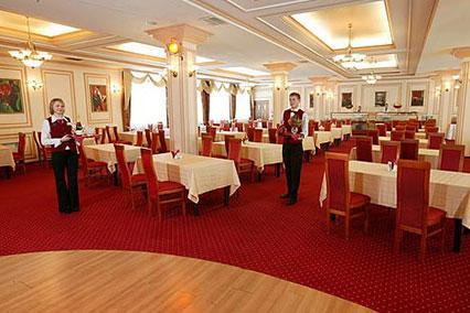 Отель Атлас Парк-Отель,Ресторан