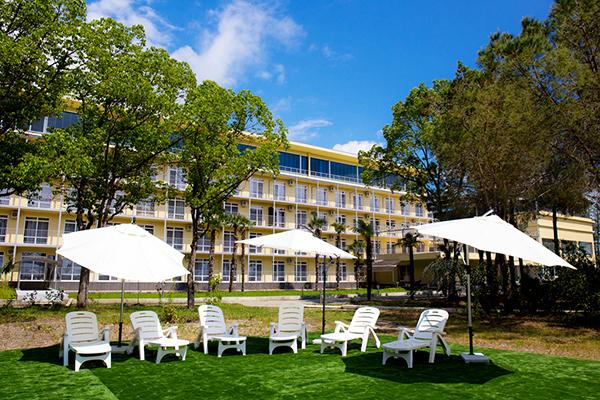 Отель Велнес Парк отель Гагра (Wellness Park Hotel Gagra),Территория