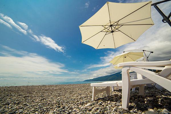 Отель Велнес Парк отель Гагра (Wellness Park Hotel Gagra),Пляж