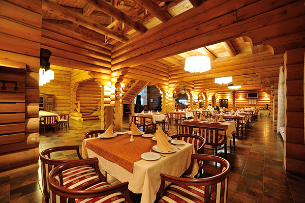 Эко-курорт Марьин остров,Ресторан