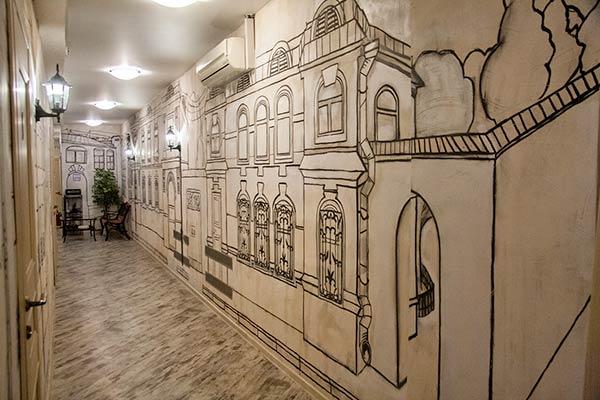 Отель Старая Москва,Корридор (корпус №3)