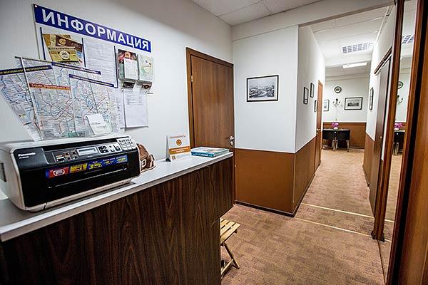 Отель Старая Москва,Корридор (корпус №1)
