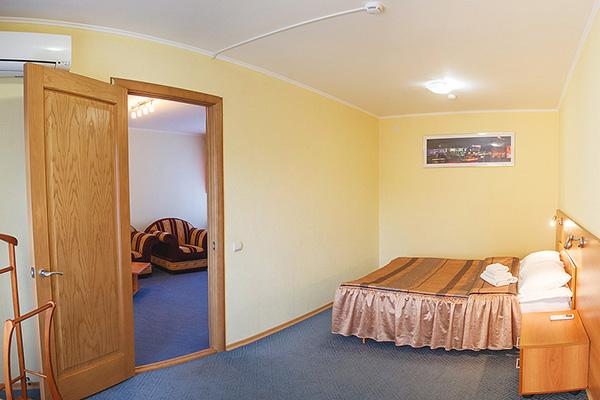 Отель Авиатор,Премьер (спальня)