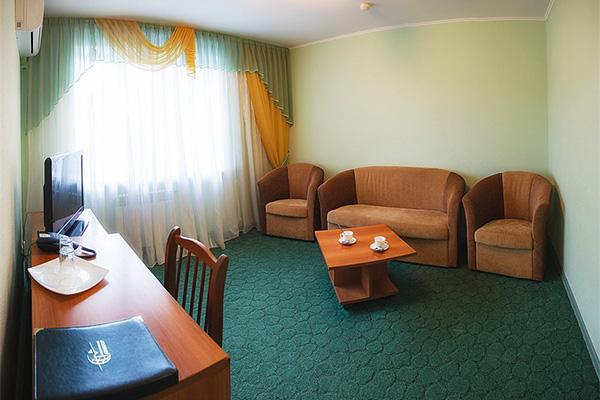 Отель Авиатор,Люкс (гостиная)