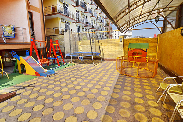 Отель Плаза,Детская площадка