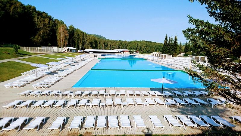 Парк-отель Ая,Комплекс бассейнов Алтайская Ривьера (2)